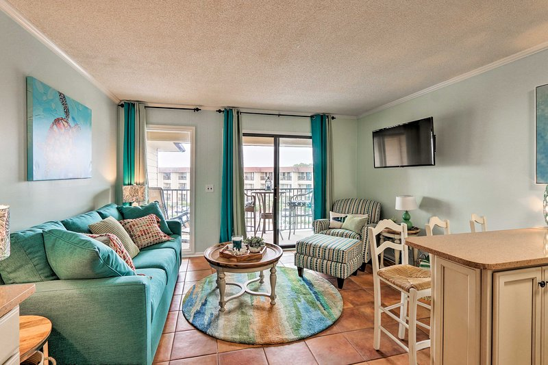 Discover heaven on Hilton Head Island at this updated resort condo!