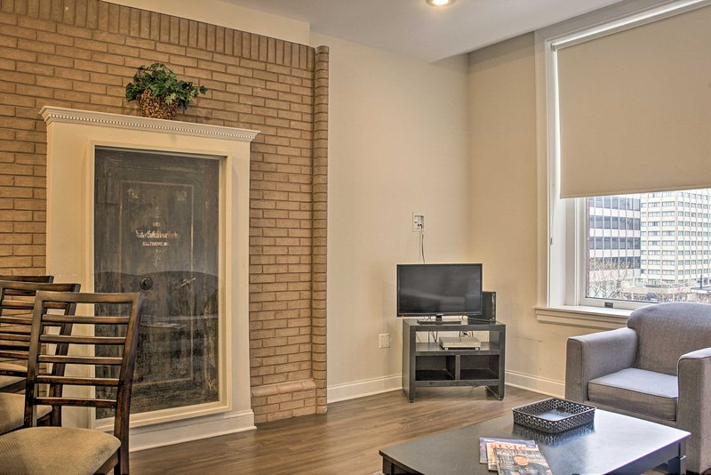NEW! Downtown Baltimore Apt - Walk to Inner Harbor, location de vacances à Glen Arm