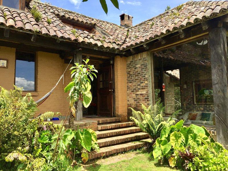 El Cobijo, Casa de Campo-  Sisga a hora y media de Bogotá. ¡Bienvenidos!, holiday rental in Choconta