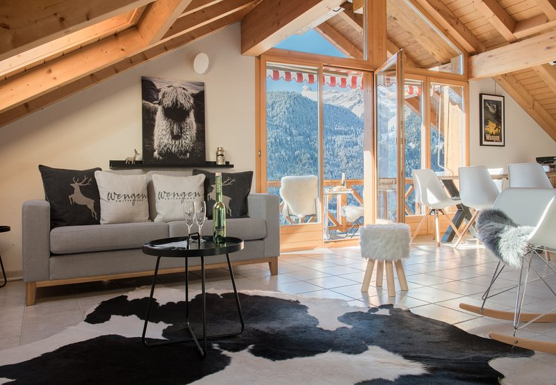 Chalet Rose Penthouse, holiday rental in Lauterbrunnen