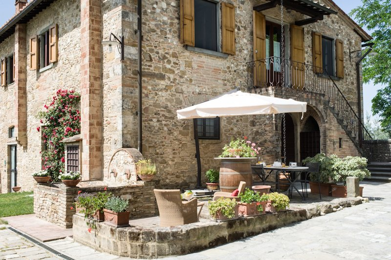 Poggio ai Falchi, beautiful first floor apartment in the country side, vacation rental in Marcialla