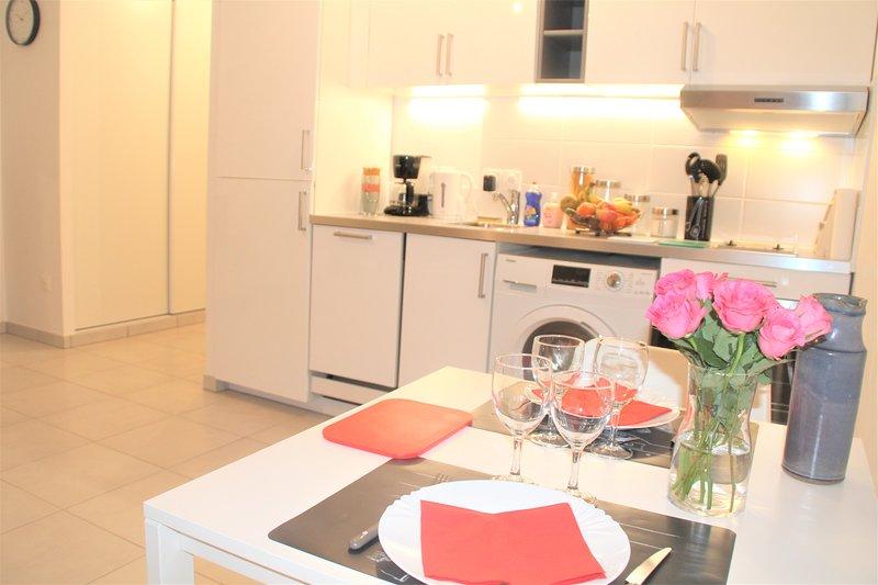 Appartement tout équipé, cosy (1 station de Paris), location de vacances à Seine-Saint-Denis
