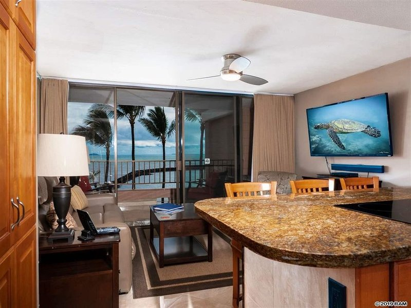 Your home in paradise oceanfront, holiday rental in Maalaea