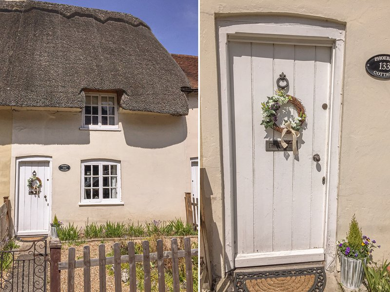 PHOEBE'S COTTAGE, thatched cottage, character features, WiFi, pet-friendly, in, holiday rental in Wellow