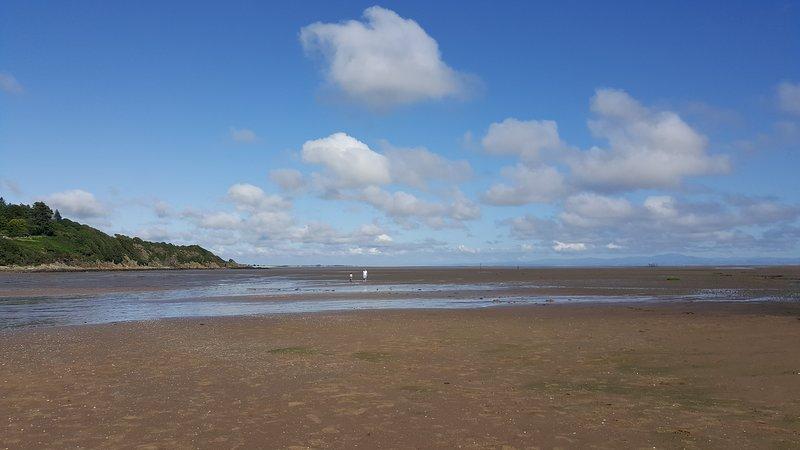 Sandy Hills, praia dourada, apenas a 5 minutos de carro ou a pé pela bela caminhada costeira