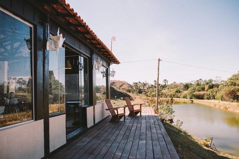 Casa na Chapada dos Veadeiros - Recanto dos Buritis, vacation rental in Alto Paraiso de Goias
