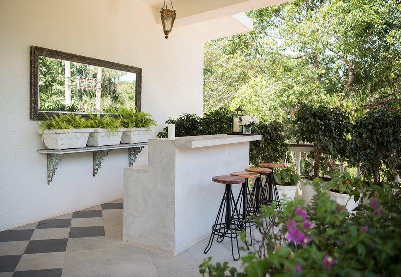Una bella casa con 3 camere da letto con terrazza all'aperto e piscina privata
