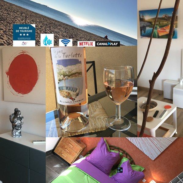 FRÉJUS-PLAGE -  A deux pas de la plage, agréable appartement avec WIFI gratuit., casa vacanza a Frejus Plage