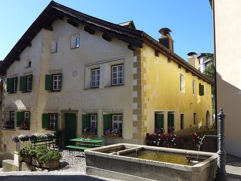 Chesa Stiffler Veglia I, vacation rental in Engadin St. Moritz