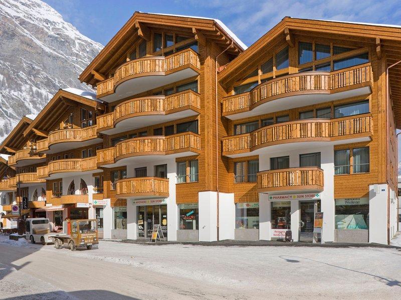 To the mat B Chalet in Zermatt