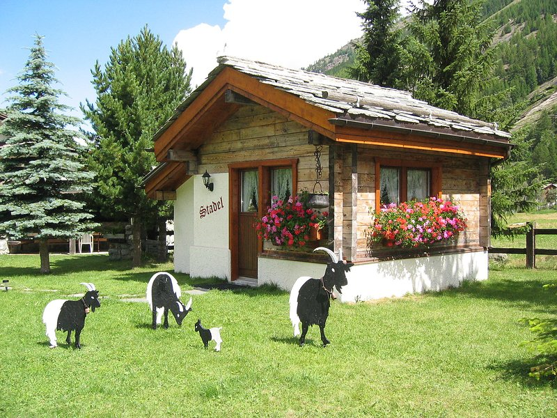 Cottage barn Chalet in Saas-Fee