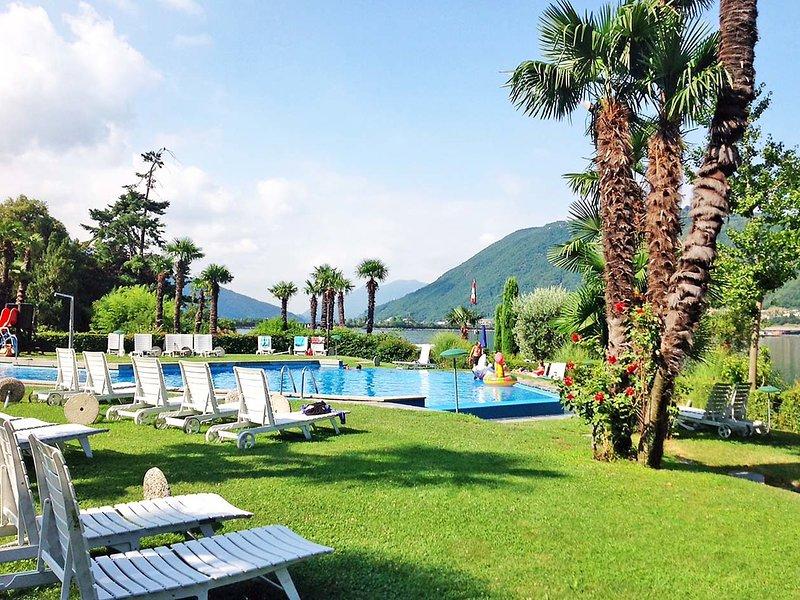 Lago di Lugano, casa vacanza a Riva San Vitale