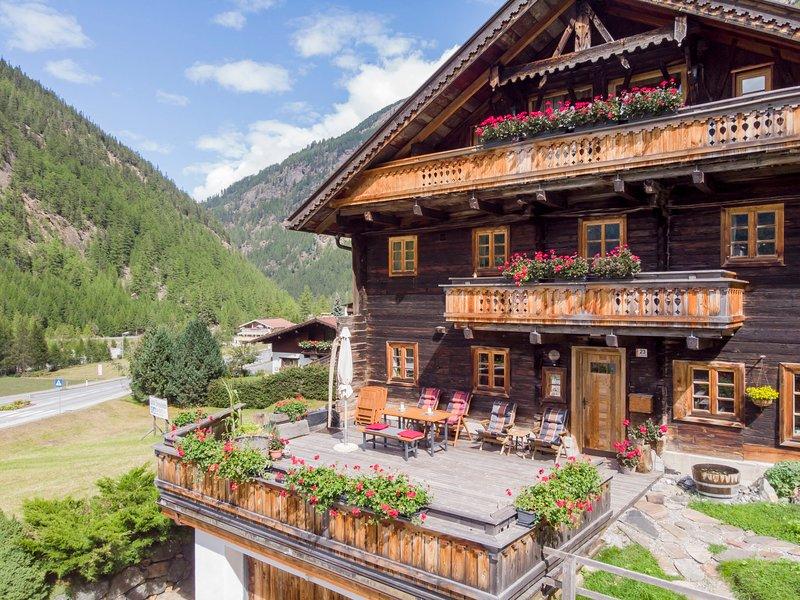 Beim Holzschnitzer, holiday rental in Zwieselstein