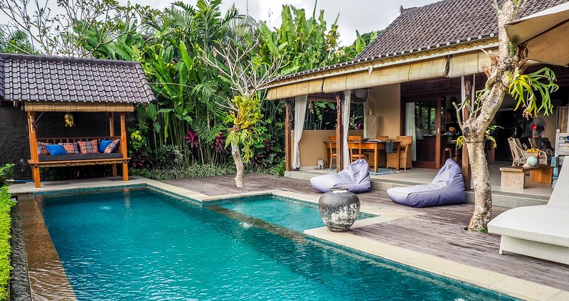 Devi's Place Ubud - luxurious private Villa Mandala with stunning views, holiday rental in Sayan