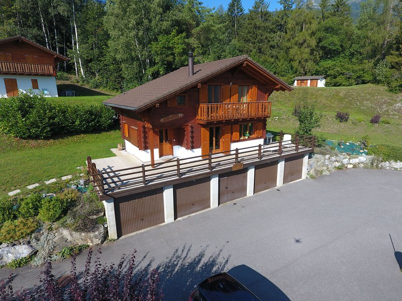 L'Escapade, holiday rental in Ovronnaz