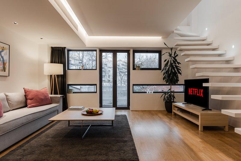 Living Room / Seating Area / Balcony