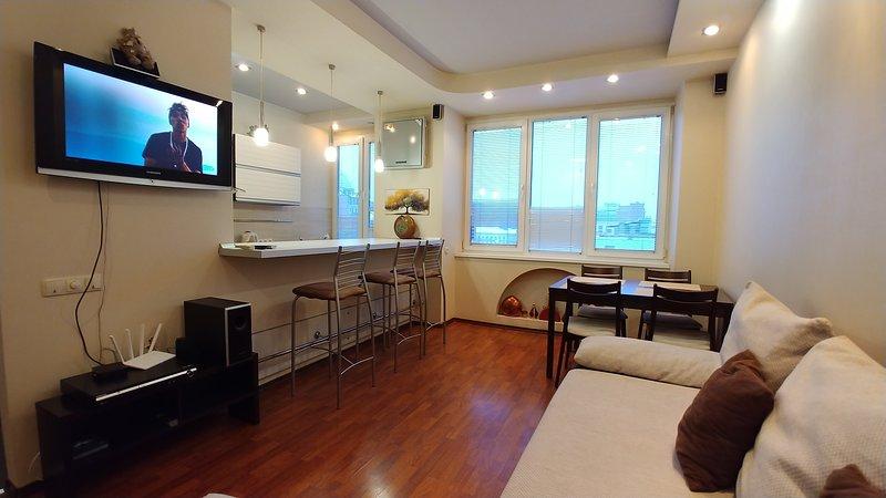 Two bedrooms Luxury 54 Khreshchatyk Arena City, holiday rental in Kyiv (Kiev)