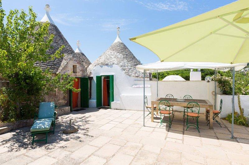 Nice house with garden & Wifi, alquiler vacacional en Casalini di Cisternino
