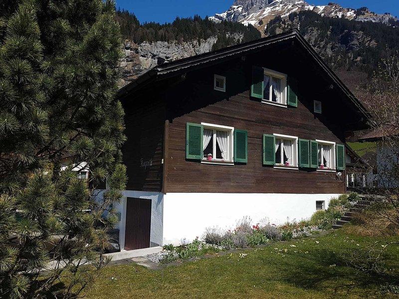Chalet Fluegärtli, holiday rental in Wolfenschiessen