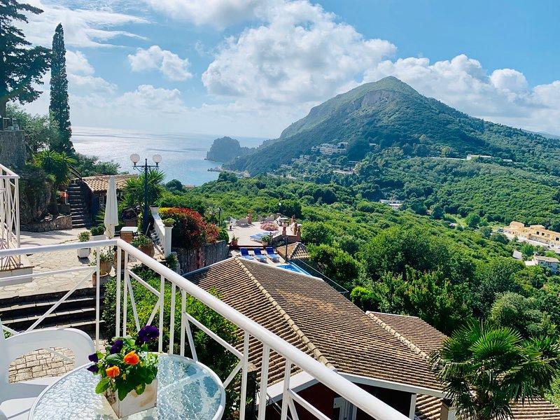 Ermones Diamond Villa, holiday rental in Vatos