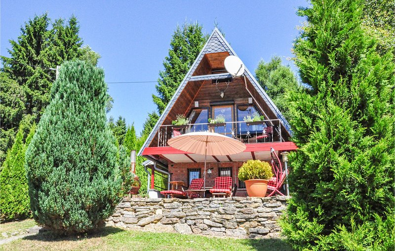 Amazing home in Goldlauter-Heidersbach with Sauna, WiFi and 1 Bedrooms (DTH931), holiday rental in Suhl
