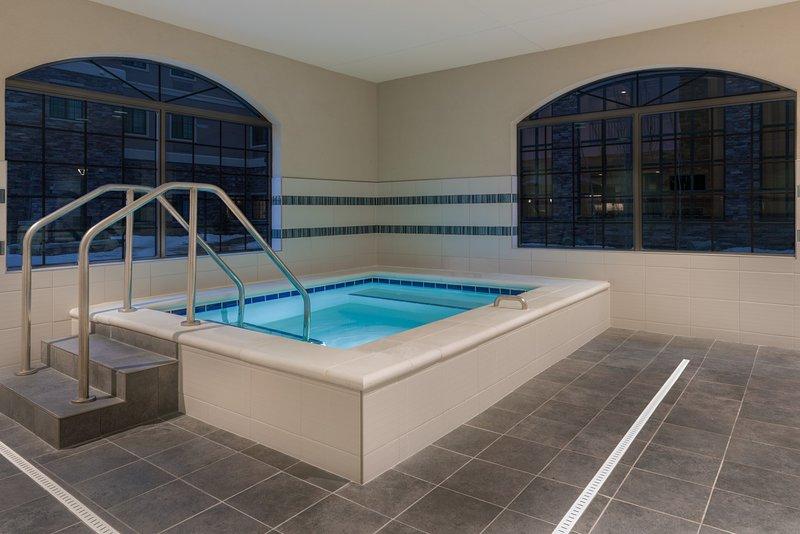 Enjoy the hot tub!