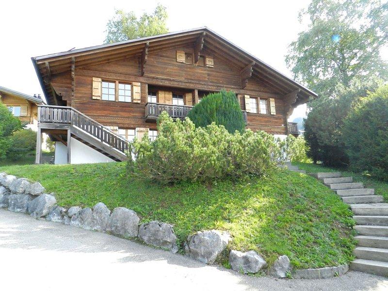 Les Hivernants (EG rechts), holiday rental in Schonried