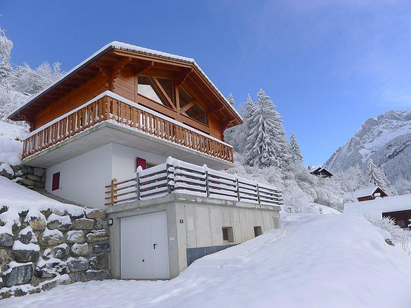 Chalet Double Rouge, location de vacances à Alpe des Chaux