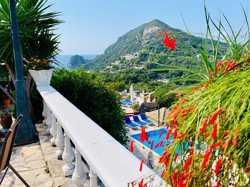 Ermones Ruby Villa, holiday rental in Vatos