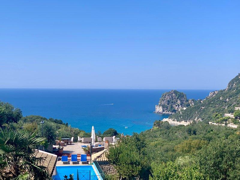 Ermones Emerald Villa, holiday rental in Vatos
