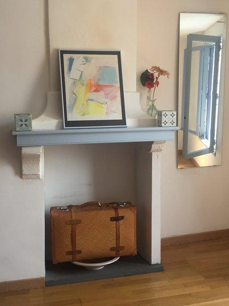 Petite Maison Bleue de Limoux is an authentic petite maison de ville in Limoux., holiday rental in Magrie