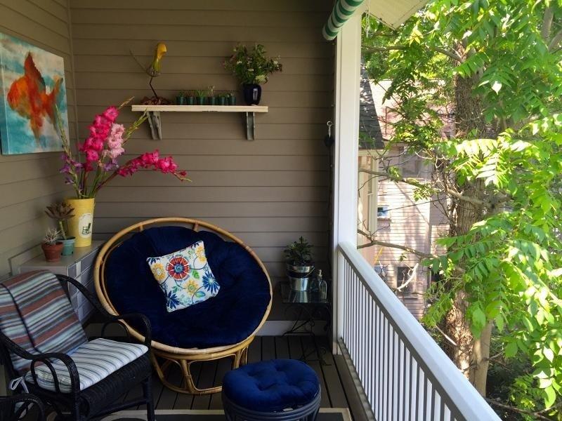 Mobilio, Sedia, Balcone, cuscino