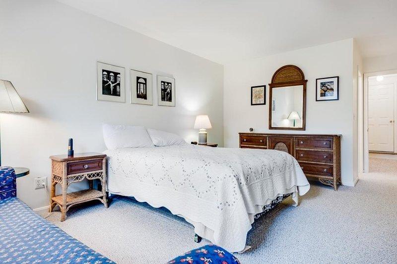 Interior, dormitorio, habitación, muebles, cama