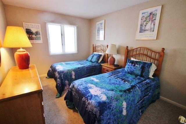 Interior, dormitorio, habitación, muebles, lámpara