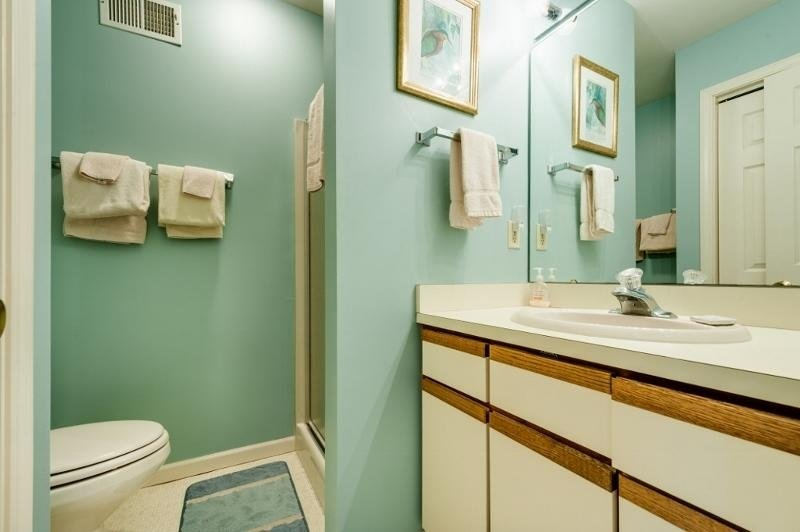 Camera, interna, bagno privato, bagno