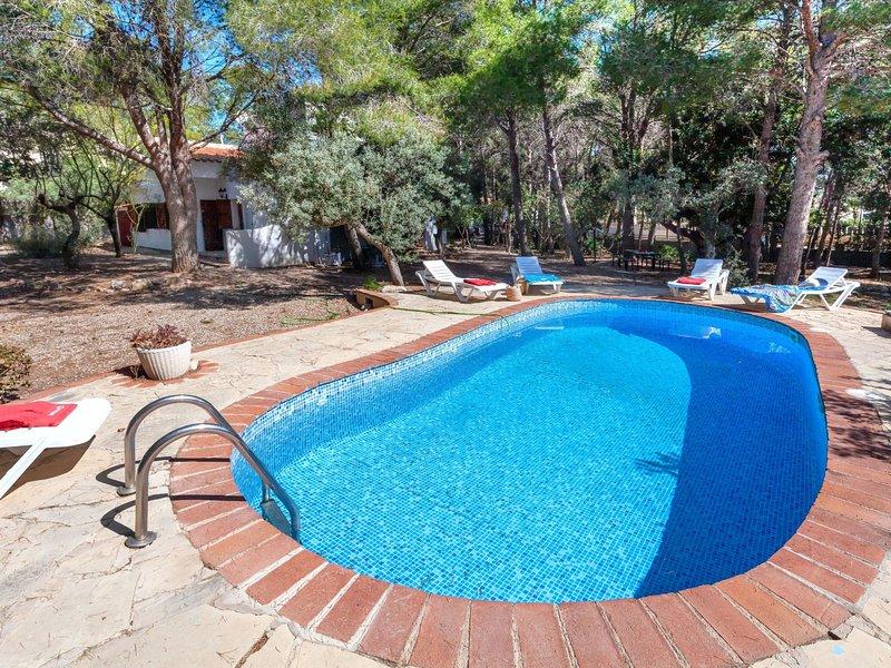 Villa Pinos, alquiler vacacional en Benissanet
