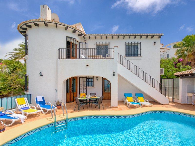 Sol y Monte, holiday rental in Sanet y Negrals