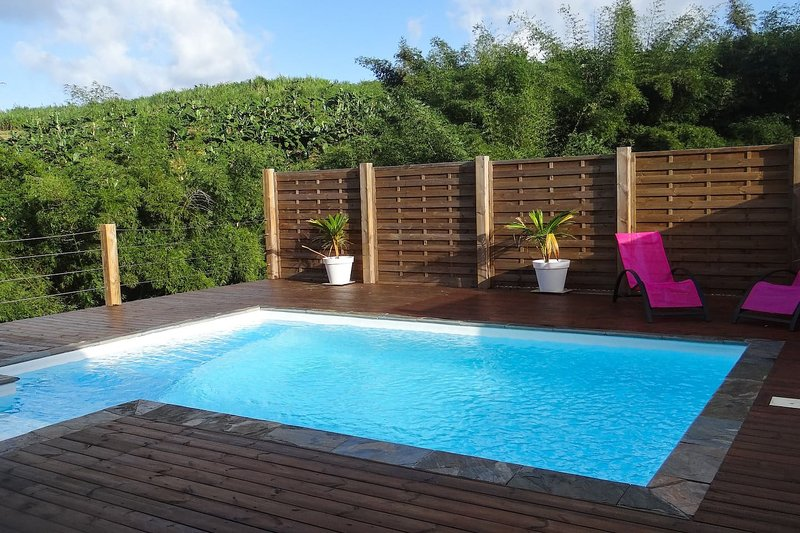Amazing villa with swimming-pool, casa vacanza a Marigot