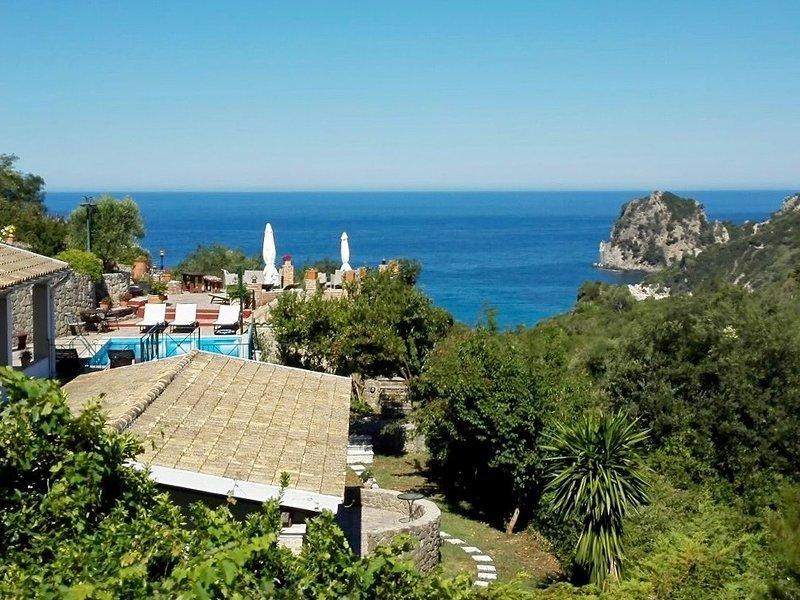 Ermones Sapphire Villa, holiday rental in Vatos