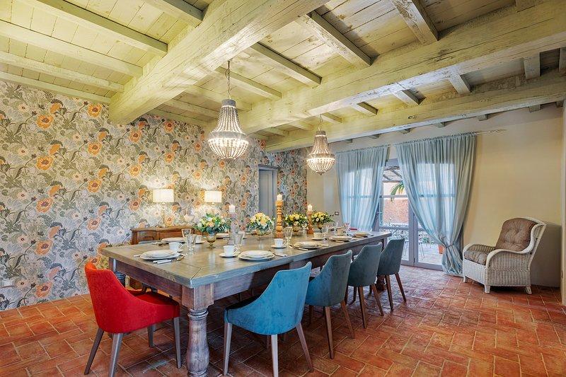 Villa Calliope ideal for family reunion or group of friends, aluguéis de temporada em Torcigliano