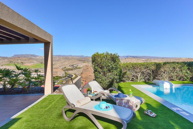 Salobre Golf Gran Canaria Terrazas 13, location de vacances à Montana La Data