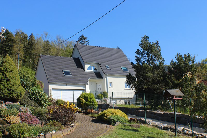 Beautiful apt with mountain view, holiday rental in Balbronn