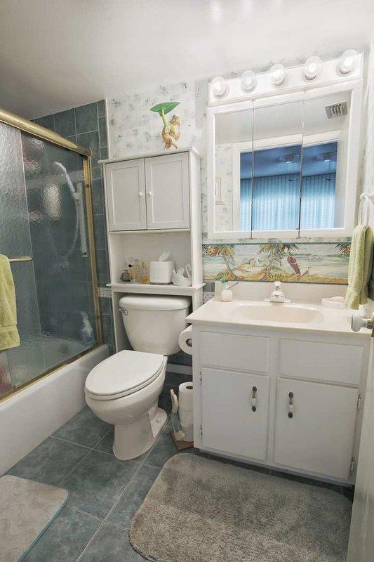 Camera, servizi igienici, interni, bagno, decorazioni per la casa