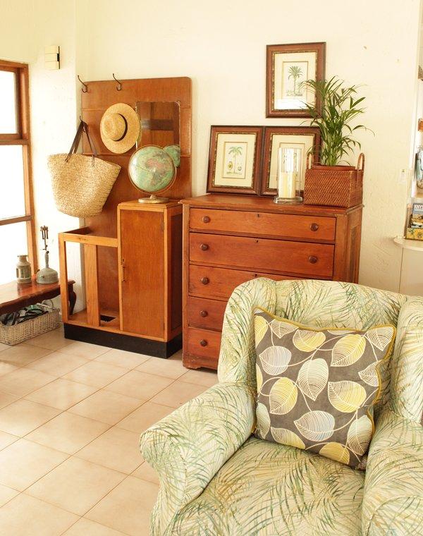 Casa di famiglia con tocchi antichi
