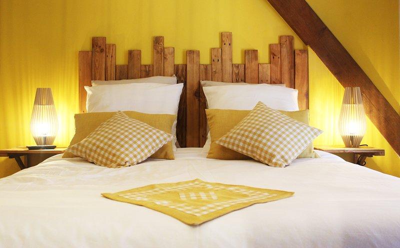 La Grange Ungersheim 5***** Détente & Loisirs en  Alsace jusqu'à 8 personnes, casa vacanza a Guebwiller