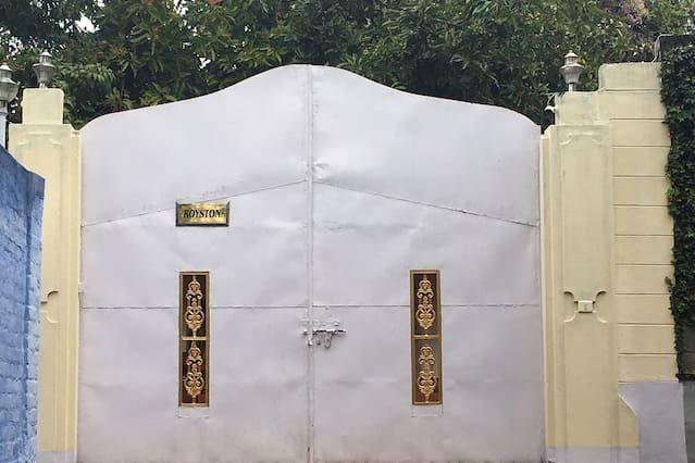 Magnífico portão de entrada Royston
