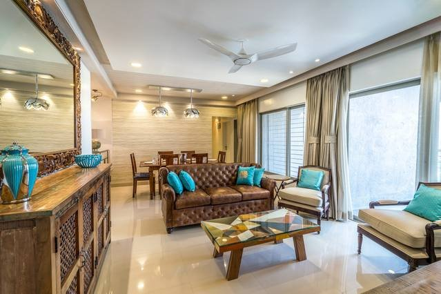 Families & Corporates, Luxe 3BR Apt, Fashion Res, Pune - FREE BUTLER SERVICE, vacation rental in Pune