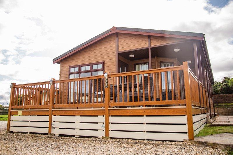 The Lookout - Modern 3 bedroom Lodge, alquiler de vacaciones en Lossiemouth