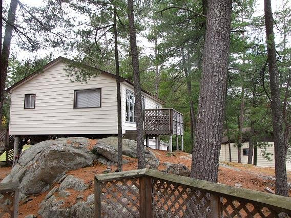 Cottage #2 2 bedroom waterfront cottage on Trout Lake in Alban, Ontario, vacation rental in French River