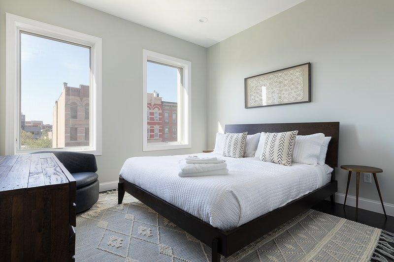 Large Stylish 3BR Loft Cobblestone St. next to NYC, location de vacances à Hoboken